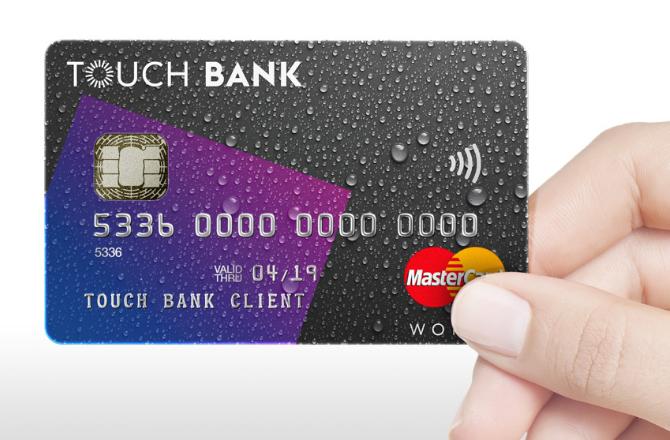 Как оформить кредитную карту «Тач Банка», условия и лимит.