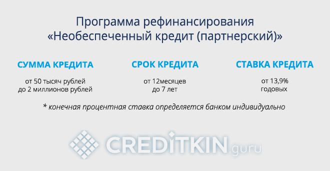Возможности рефинансирования кредитов других банков