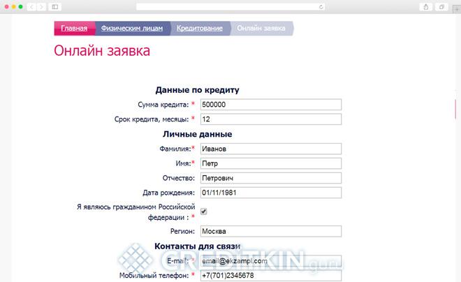 Кредитование в РФ