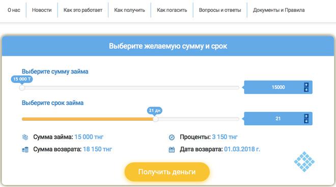 Как оформить онлайн-заявку на выдачу займа в «eKredit»