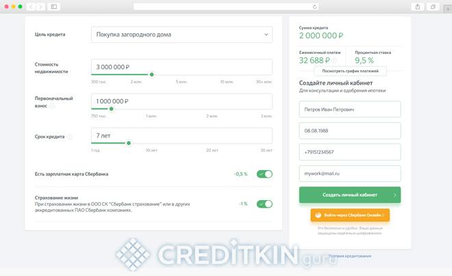 Получение и обслуживание кредита