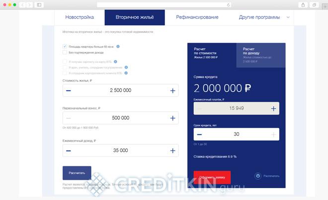 Как рассчитать кредит
